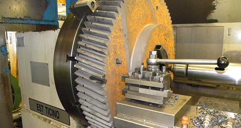 Machinefabriek stralen